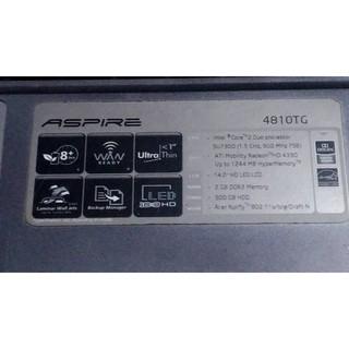 ACER 4810TG  筆電零件機, 須單獨個別報價 雲林縣