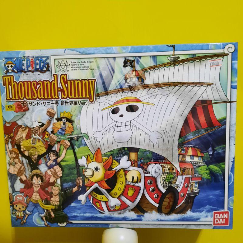 *免運*日本帶回*BANDAI ONE PIECE 海賊王航海王 千陽號 新世界