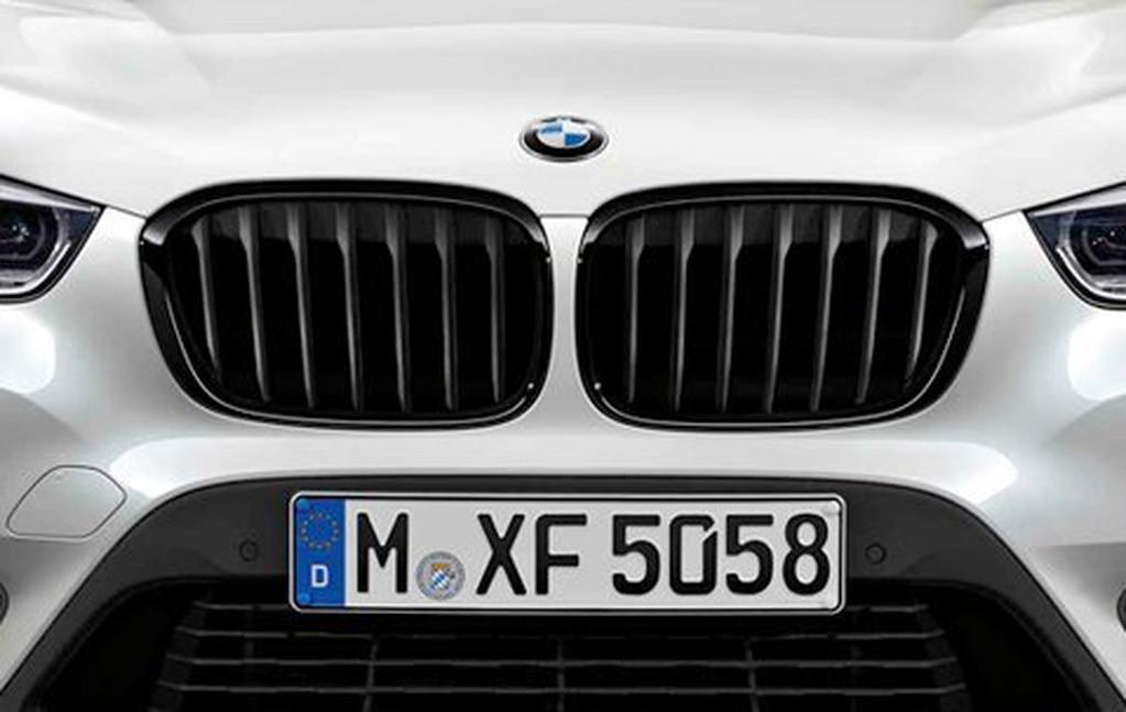 ☆阿勳服務☆ 正廠 BMW M PERFORMANCE 性能款 黑色 水箱罩~F20 F22 F45 F46