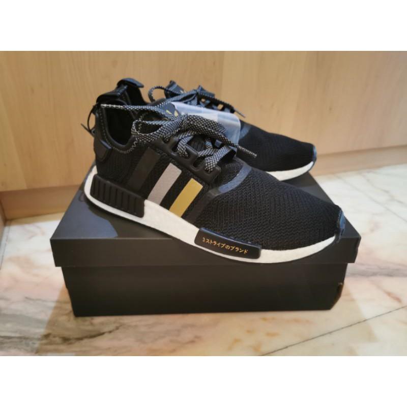 [自售*含運*可議價]愛迪達Adidas EH2749 NMD黑金/黑黃 日本限定。不正包退!
