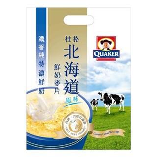 *健人館* 桂格北海道鮮奶麥片 特濃鮮奶 28公克X12包/ 袋 屏東縣