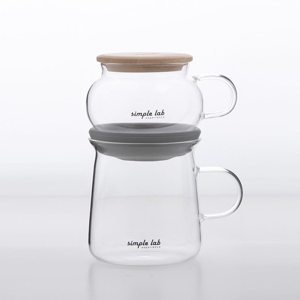【SIMPLE LAB】AIRO氣壓式茶具組《拾光玻璃》 茶壺 茶杯 玻璃壺 玻璃杯