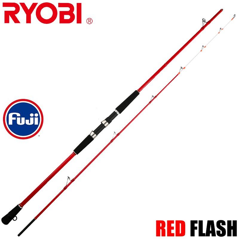 日本RYOBI RED FLASH 海釣 船釣 磯釣 岸拋竿 釣竿 遠投竿 路亞 富士FUJI輪座