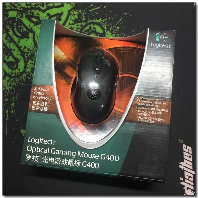 全新盒裝羅技g400 g400S鼠標 有線遊戲鼠標 現貨