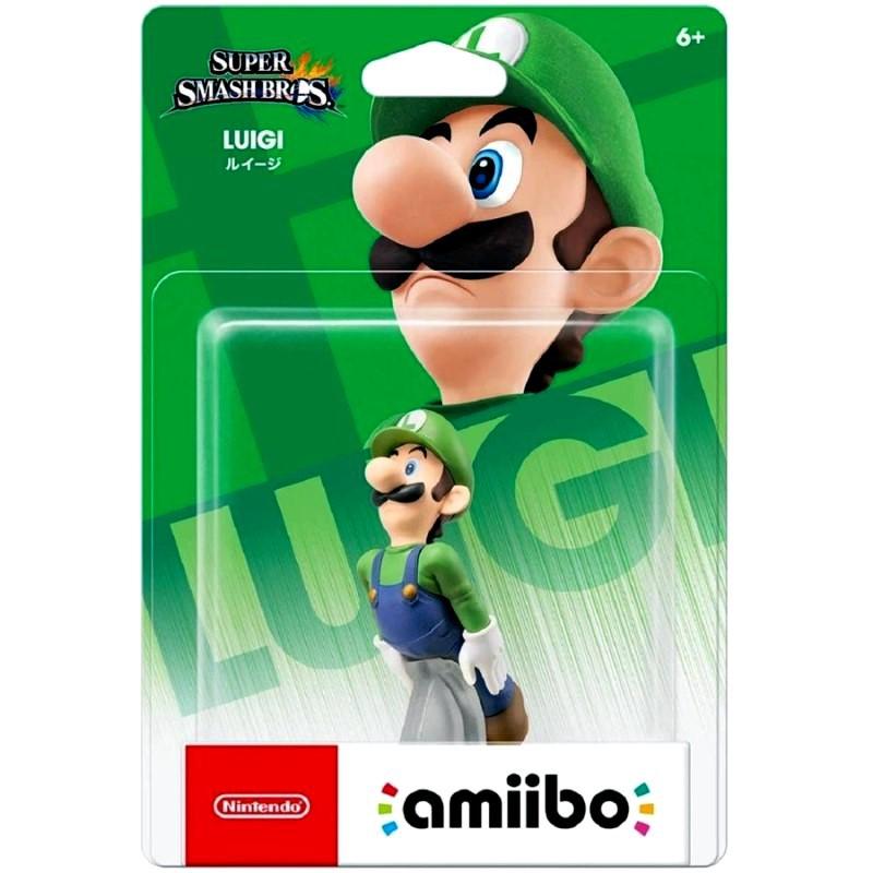 Nintendo Switch Wii U 任天堂明星大亂鬥 amiibo 路易吉 LUIGI 【台中星光電玩】