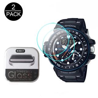 卡西歐 Gwn-1000B 1000c Gn1000B Gn-1000 Gwn-Q1000A 防刮屏幕保護膜的 2pcs