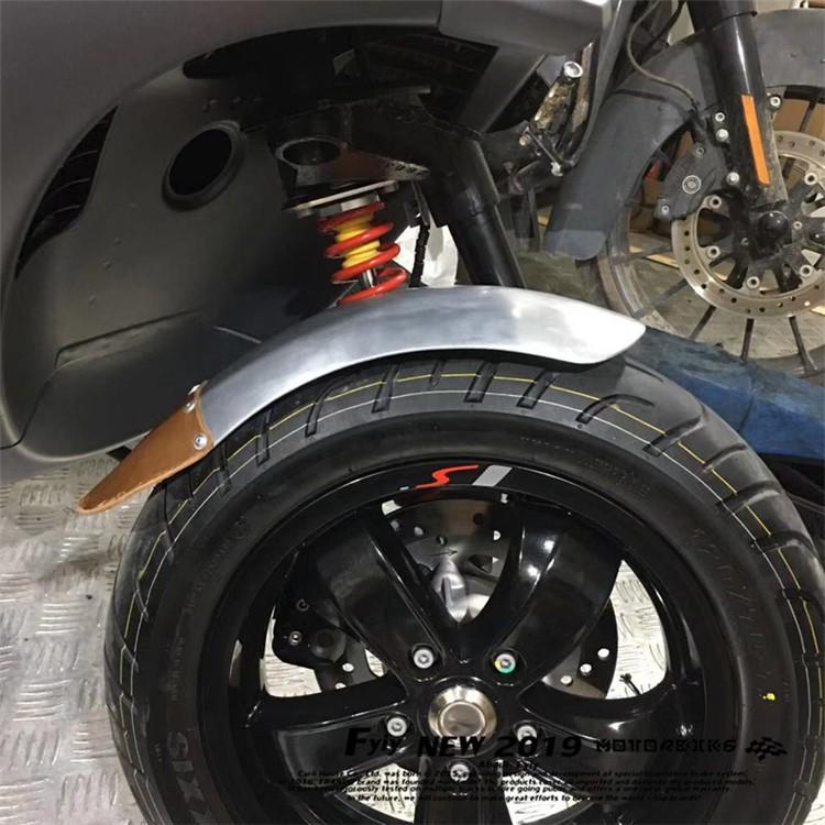 維斯帕Vespa偉士牌春天衝刺125/150/GTS300/GTV/LX通用小土除泥瓦手工擋泥板