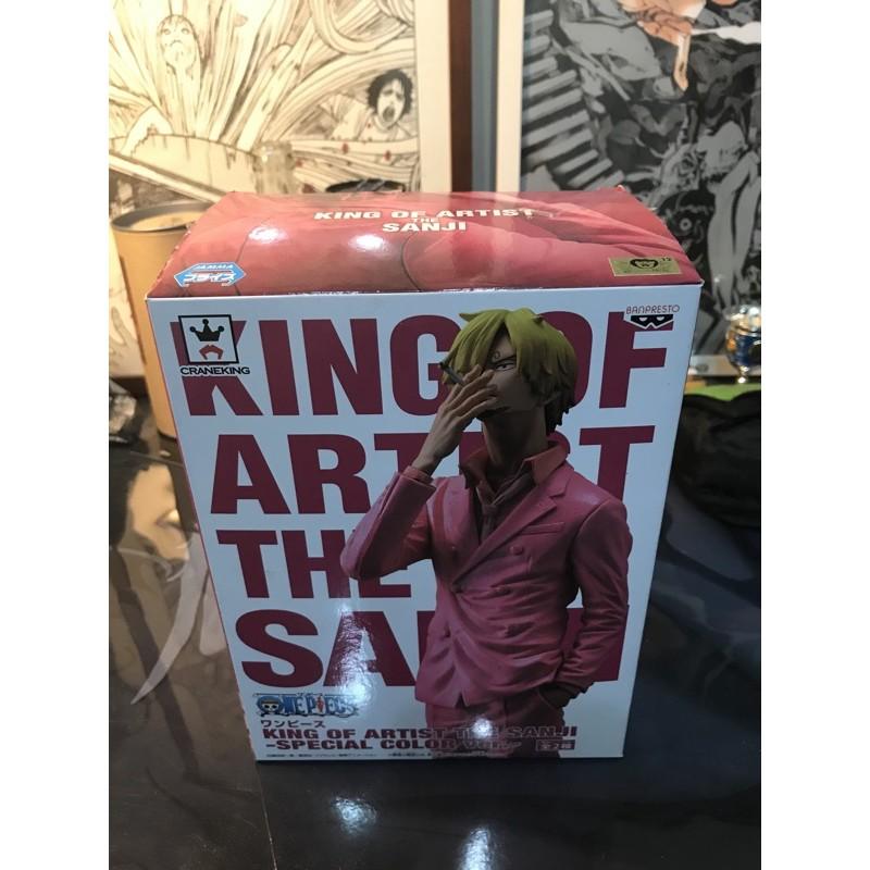航海王 海賊王 香吉士 金證 代理 藝術王者 西裝 粉紅西裝 黑西裝 景品 公仔 不拆售