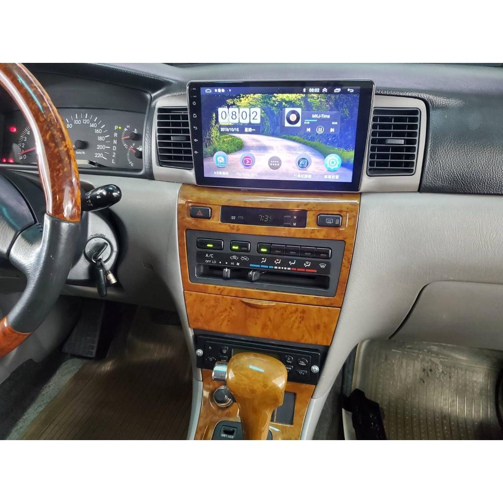 ✵皇捷影音✵TOYOTA 豐田2001~2007 9代 ALTIS 9吋 汽車數位影音導航安卓音響主機