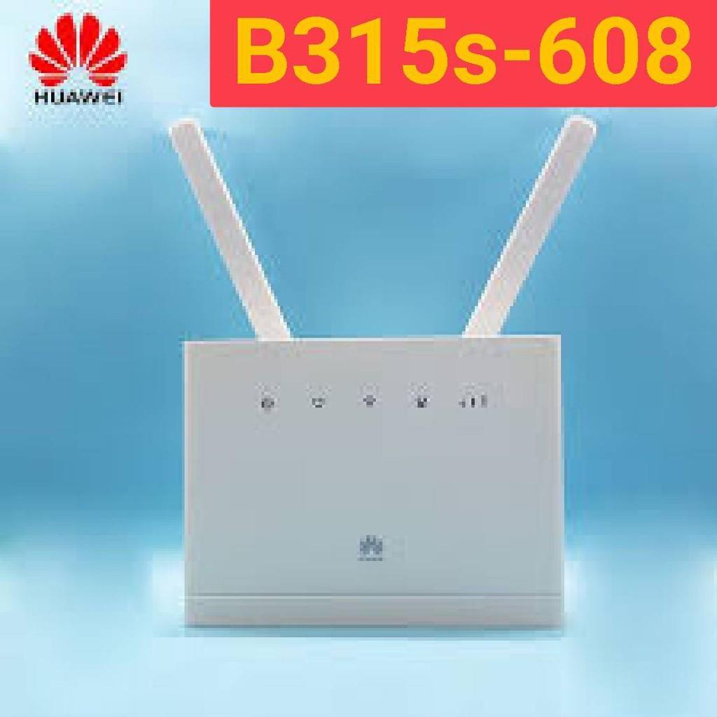 【送轉卡】華為B315S-608 B315S-22 4G Wifi分享器無線網卡路由器另售b311 b310 b316