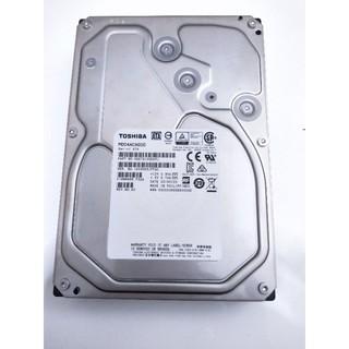 TOSHIBA 東芝 硬碟 內接 3.5吋 6TB 二手 保固至2022 MD04ACA600 台北市