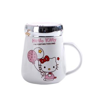 【VAE嚴選】水杯 馬克杯 保溫杯 400ML可愛陶瓷水杯子帶蓋辦公室女馬克杯可愛咖啡杯子男女生水杯