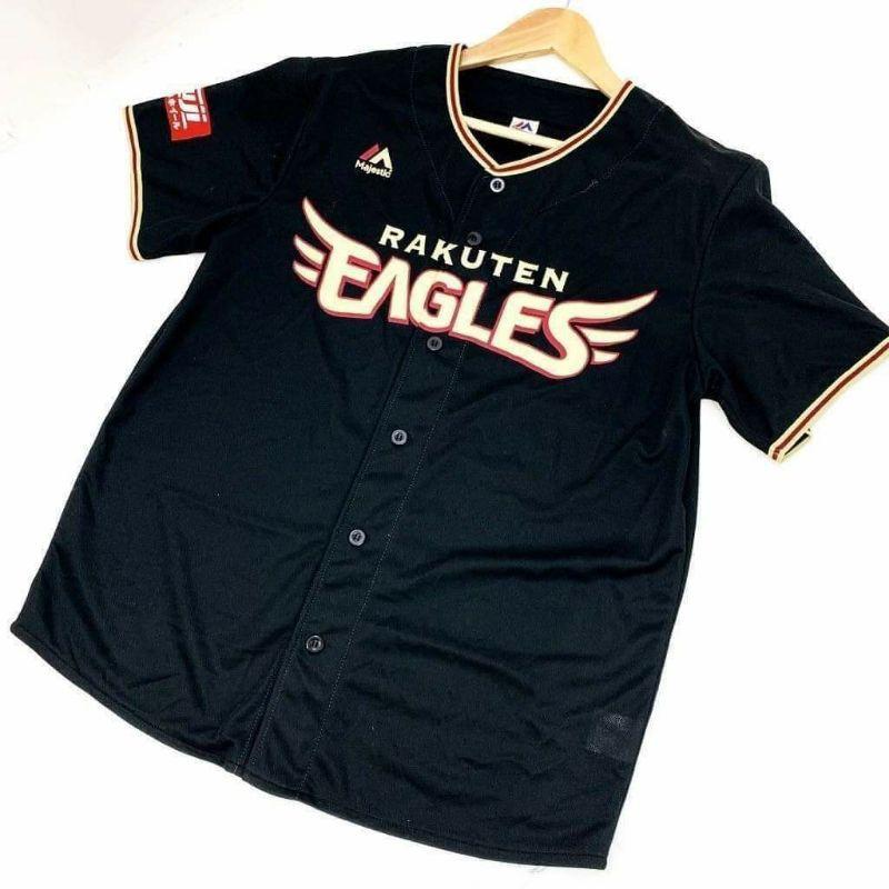 東北樂天金鶯 特殊黑鷲限定 2017 應援球衣 Majestic製