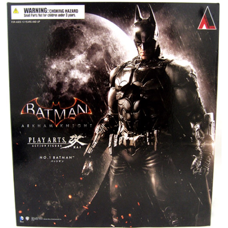 Batman Arkham Knight Play Arts Kai Action Figure 蝙蝠俠 模型 改阿卡漢