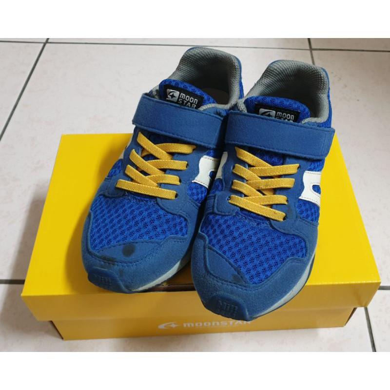 二手Hi系列moonstar月星2E寬楦十大機能童鞋,附上鞋盒