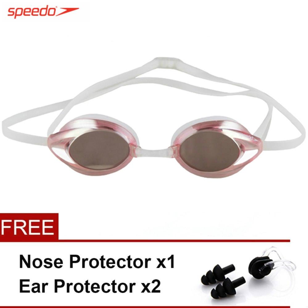 Speedo近視泳鏡眼睛度數200300400500 Mariner光學泳鏡游泳防水防霧