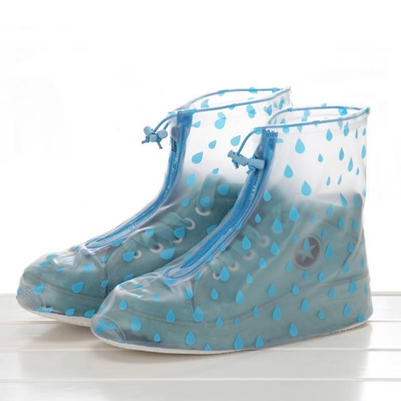 利雨防雨鞋套加厚耐磨底兒童防滑男女成人雨天上班戶外旅行雨靴