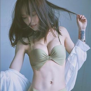 性感無痕1/ 2半杯女內衣美背無鋼圈小胸顯大集中爆乳胸罩上托套裝 超深V爆乳內衣 小胸最愛 集中爆乳侧收調整型內衣