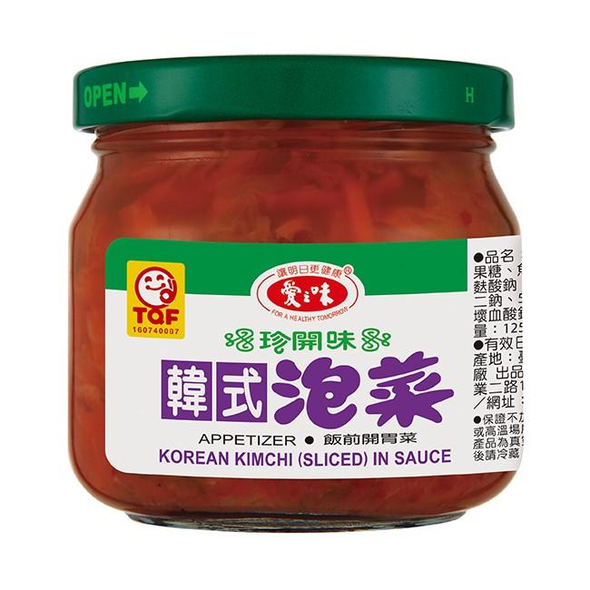 愛之味韓式泡菜190gx3瓶/組  【大潤發】