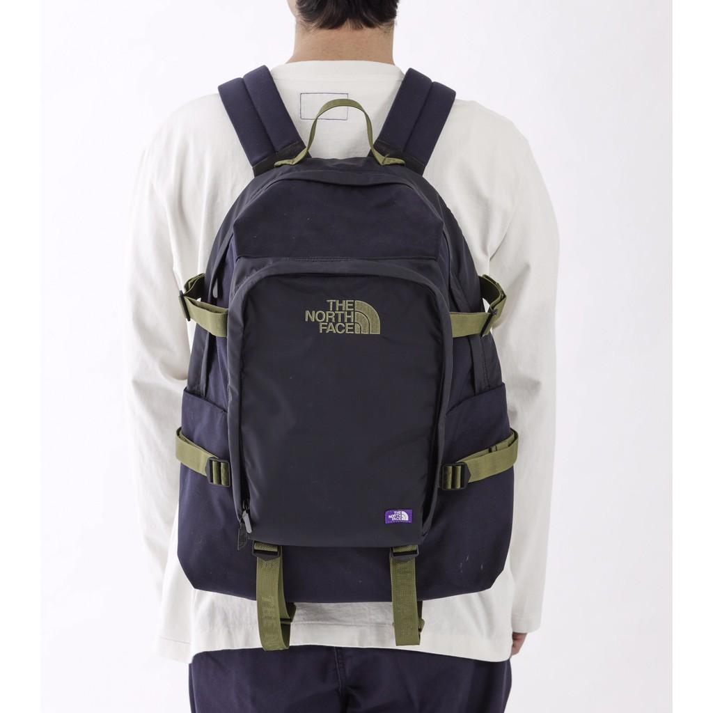 代購🇯🇵正品The North Face 紫標後背包 男女休通勤商務電腦包 防水尼龍雙肩包 旅行包