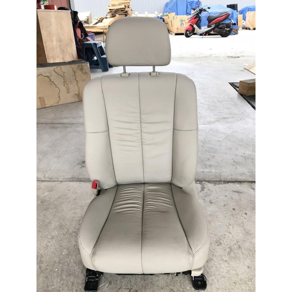 @中華三菱MITSUBISHI@GRUNDER~酷蘭德~左前(駕駛座)座椅~米色皮~電動座椅~全新原廠座椅