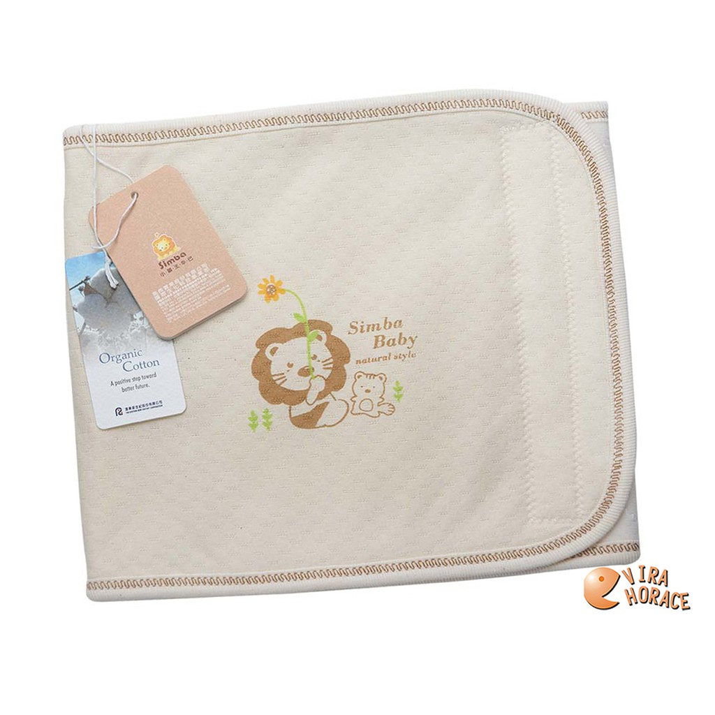 小獅王辛巴 有機棉嬰兒肚圍 寶寶睡覺時加強腹胸部禦寒保暖 S號 M號 L號3個尺寸可選 S5083 HORACE