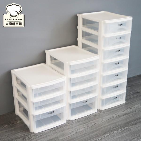 樹德魔法玲瓏盒A4資料櫃三層/四層/七層抽屜櫃文件櫃收納櫃-大廚師百貨