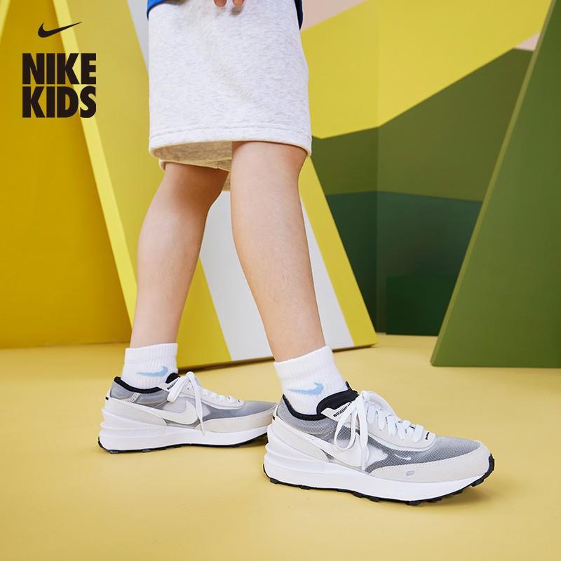 Nike耐吉WAFFLE ONE 大童運動童鞋耐吉華夫鞋夏季新款DC0481-限時特惠*免運-🌸-