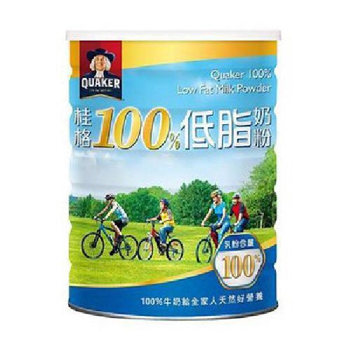 桂格 100%低脂奶粉(1500g/罐)[大買家]