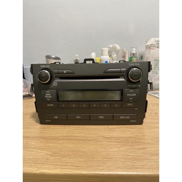 二手 Toyota Altis 10.5代原廠Panasonic音響主機 汽車音響 零件機 時好時壞