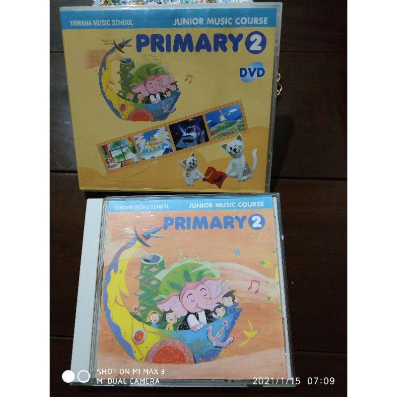 yamaha cd+dvd /幼二 山葉音樂教室