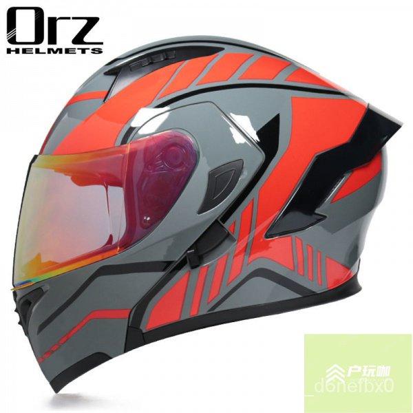 【💖安全有保障💖】Orz安全帽 男女款摩托車半罩全罩式安全帽 冬季機車保暖 3n19