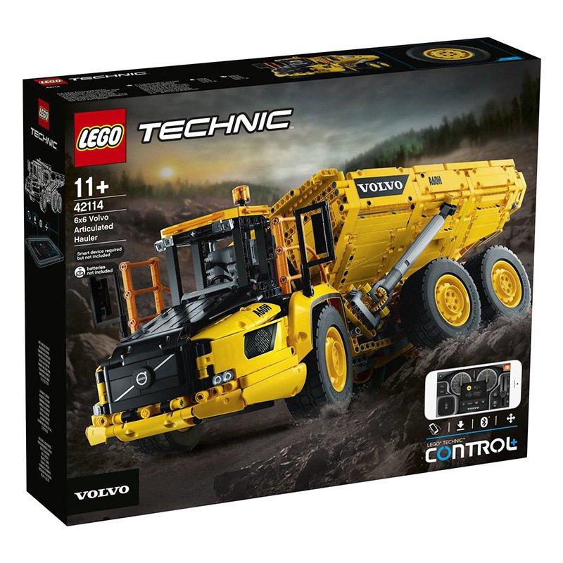 LEGO 樂高新品機械組 42114 6x6 沃爾沃鉸接式拖車 積木玩具
