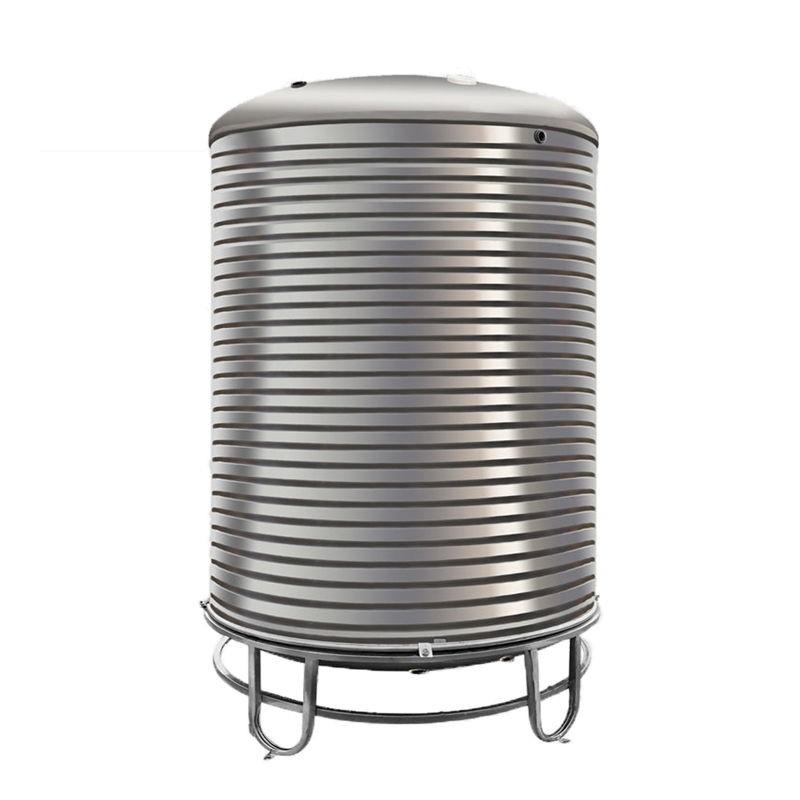 限時 全館免運 304不銹鋼水箱立式水塔家用加厚太陽能蓄水罐樓頂廚房儲水桶#
