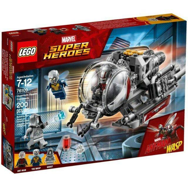 LEGO 樂高 蟻人與黃蜂女 蟻人2 超級英雄 76109