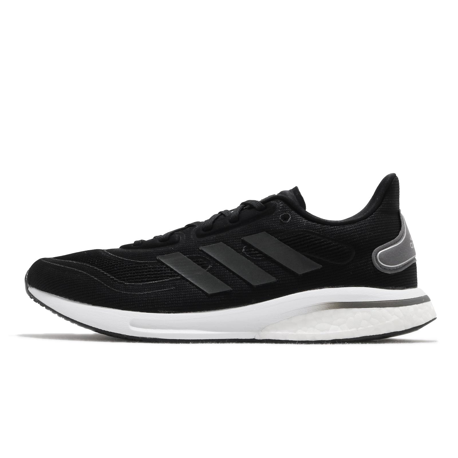 adidas 慢跑鞋 Supernova M 黑白 反光 路跑 愛迪達 男鞋 運動鞋 【ACS】 EG5401