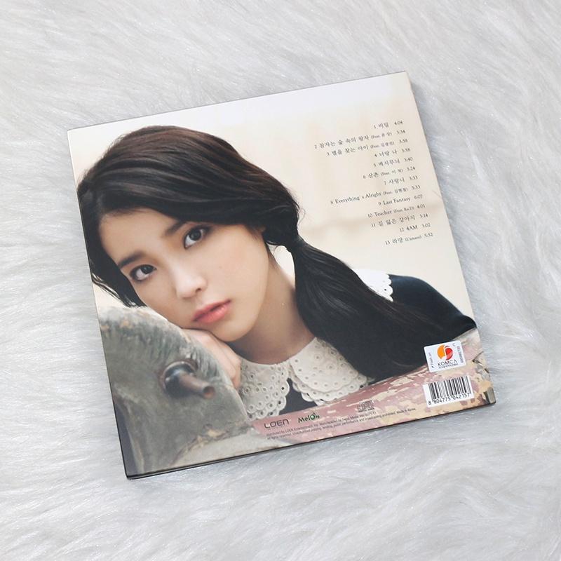 專輯合集正版現貨 IU 李知恩專輯 正規2輯 Last Fantasy CD唱片 熱賣