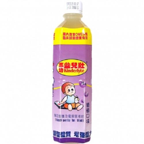 惠幼 益兒壯電解水 500ml (蘋果)