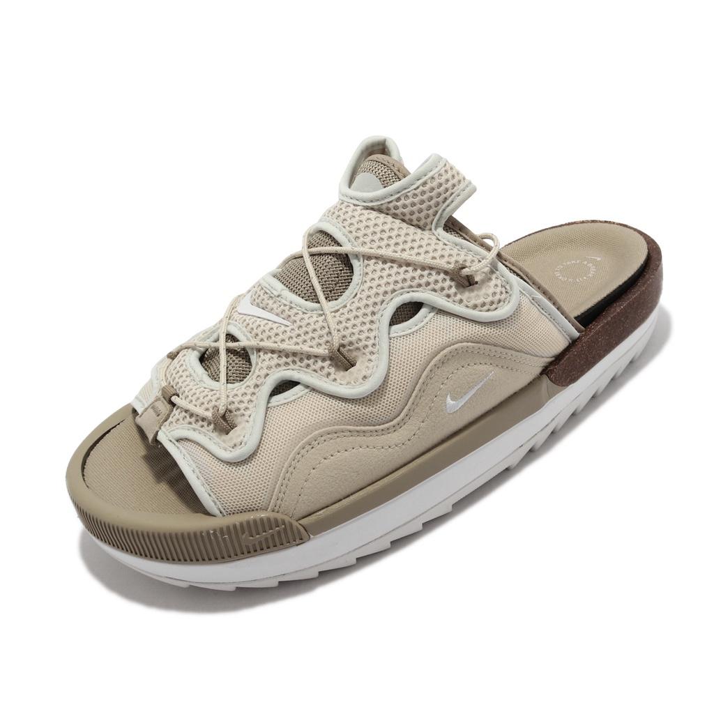 Nike 拖鞋 Offline 2.0 卡其 奶茶 穆勒鞋 按摩鞋墊 軟木塞 男鞋 【ACS】 CZ0332-201