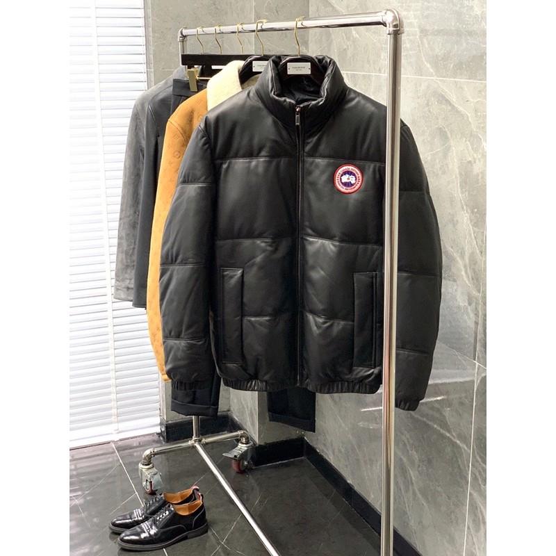 Canada Goose 加拿大鵝 2020秋冬最新品休閒時尚立領羊毛皮羽絨外套