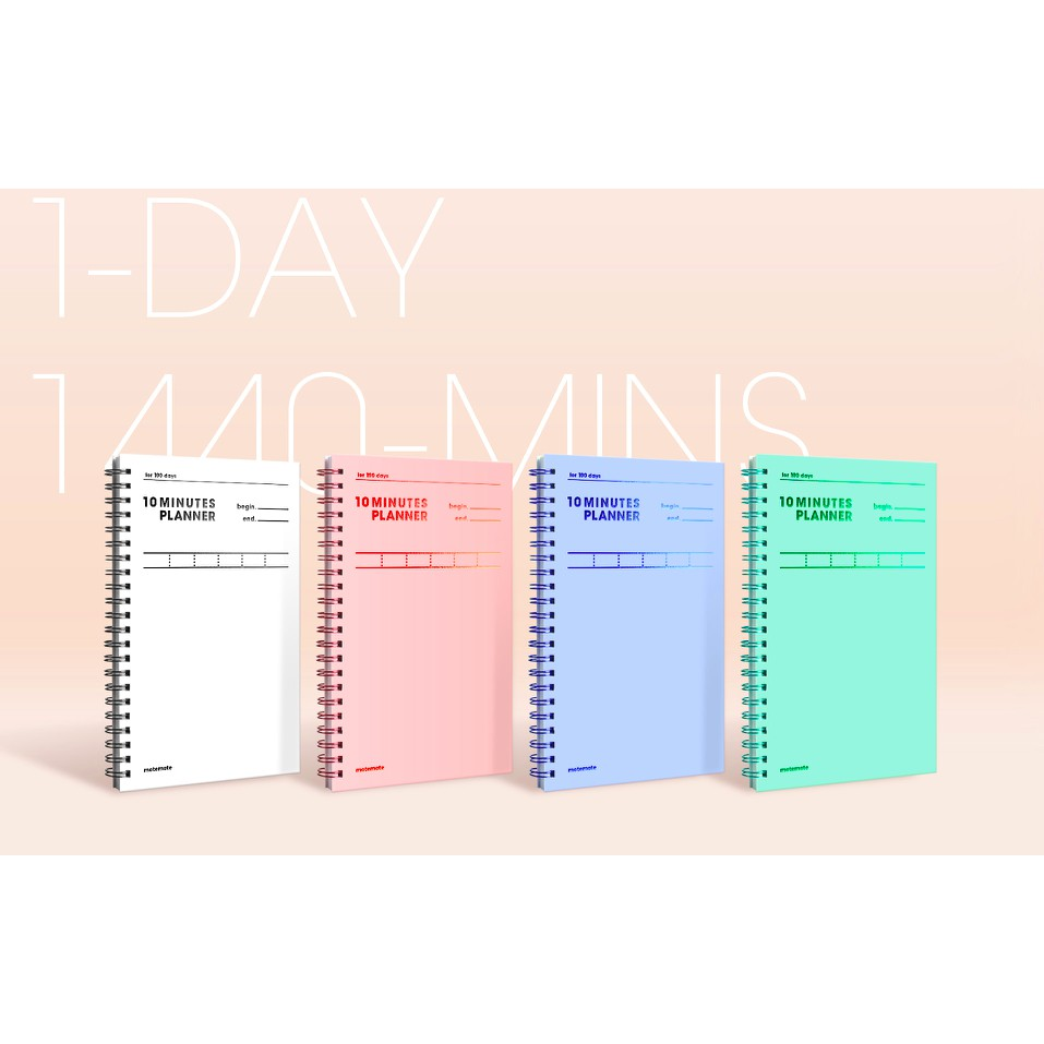 韓國讀書計畫  讀書計畫本 10 minutes planner預購+現貨  /100天款/ 會考 學測指考