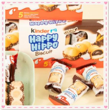 臺北小鎮💕💕 費列羅健達開心快樂河馬巧克力建達Kin誒er牛奶榛子兒童生日禮物