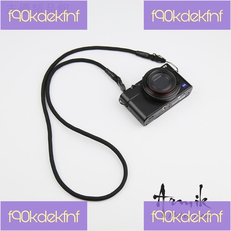 ►△Armik相機肩帶佳能G7X3mark2背帶理光GR3GR2 LX10 RX100m腕帶快拆【魚兒飛優品】