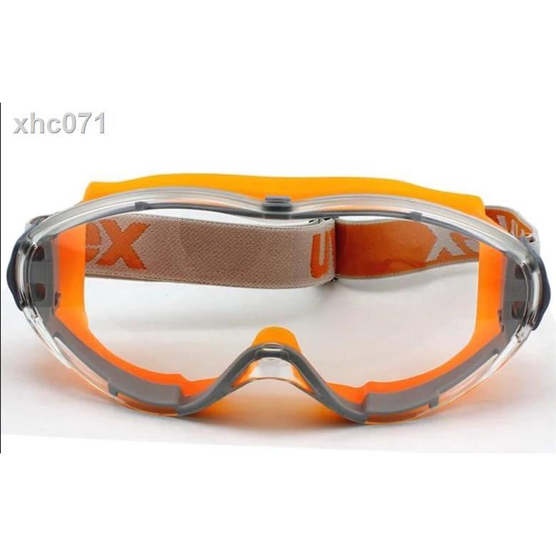 ❤特價下殺❤◐☂卍UVEX優唯斯9002245安全眼罩耐磨防霧9302密封防唾沫騎行護目鏡