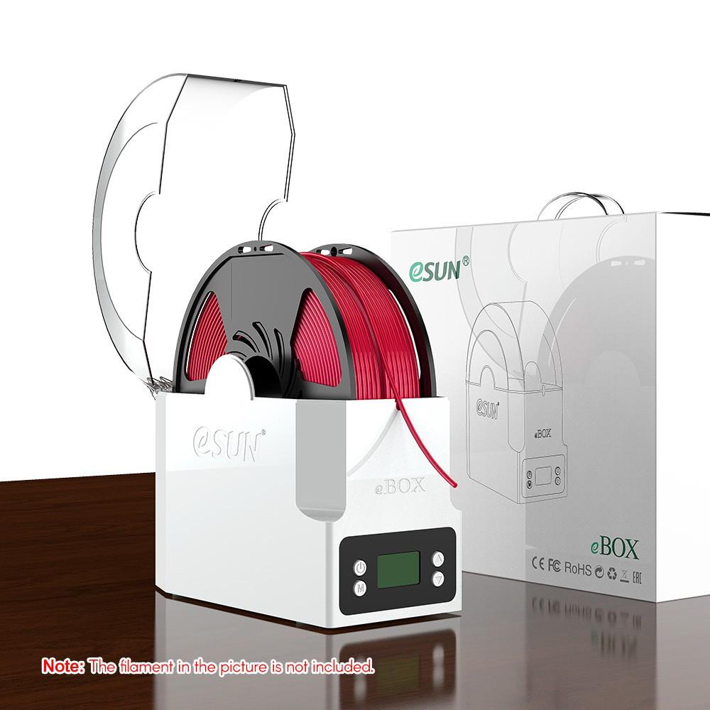 ✍現貨✎eSUN eBOX 打印耗材盒子保持耗材乾燥測量耗材重量英規電壓100-240V