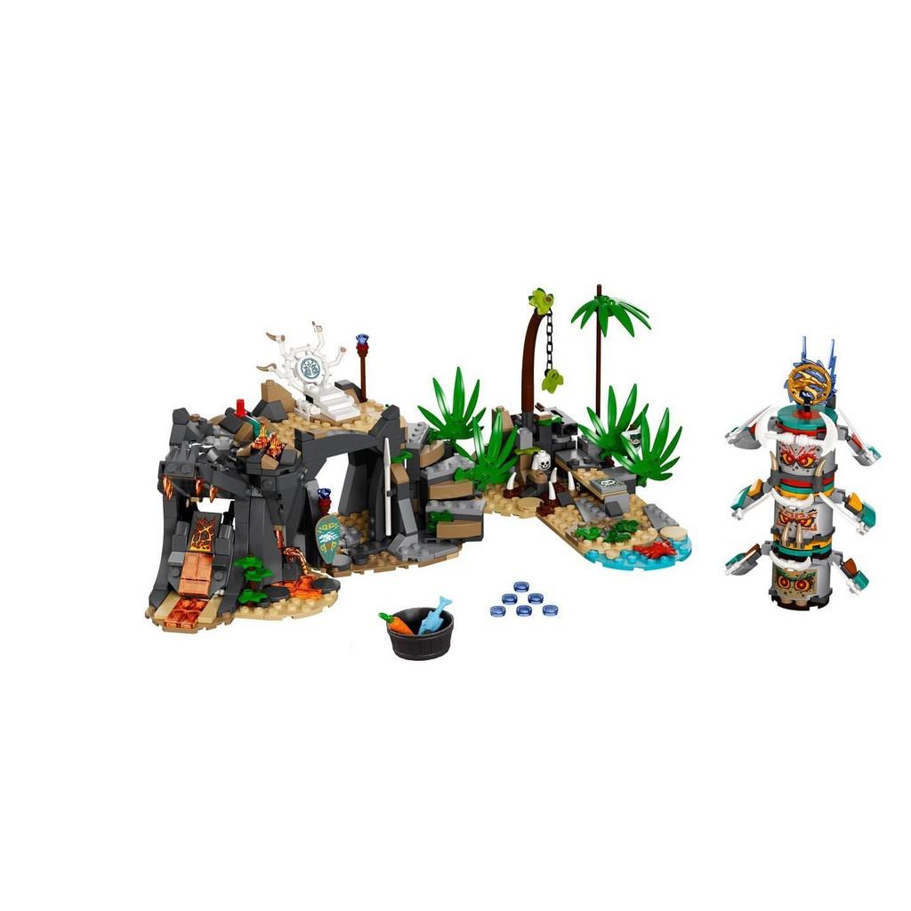 高雄 磚賣站 樂高 LEGO 71747 拆賣 場景 忍者系列 The Keepers' Village
