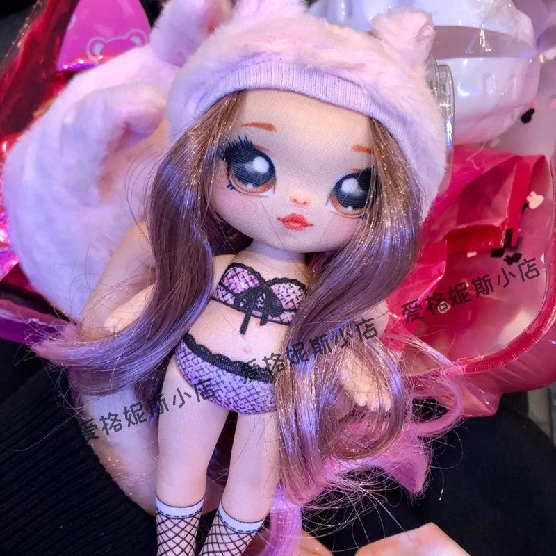 ☼正版娜娜娜nanana surprise驚喜布偶少女波姆娃娃盲盒女孩玩具pdd