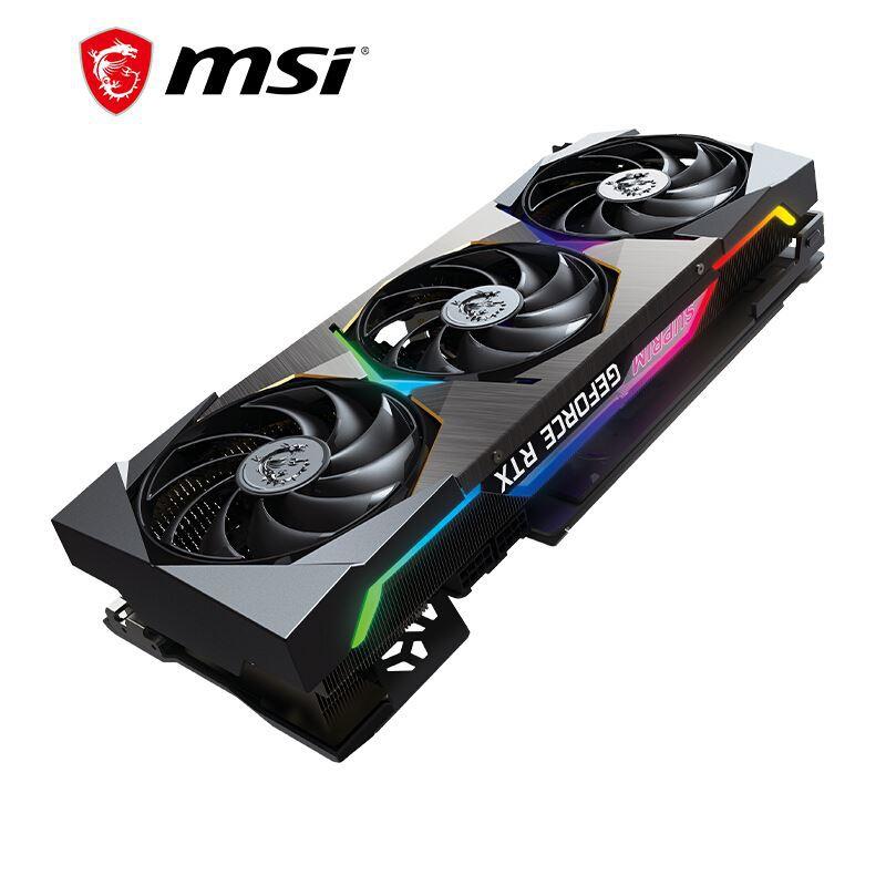 代購♩微星RTX3070TI GAMING X魔龍8G萬圖師3070 SUPRIM X超龍遊戲顯卡