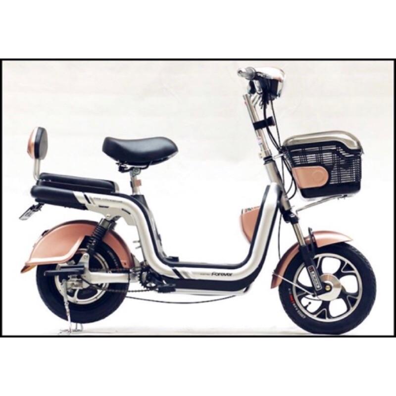 原價19800  全新僅試騎 台純電動車 U14 玫瑰金 電動腳踏車(抽取鋰電池)
