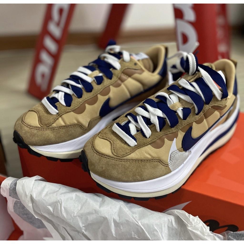 Sacai x Nike VaporWaffle 卡其 解構聯名DD1875-200